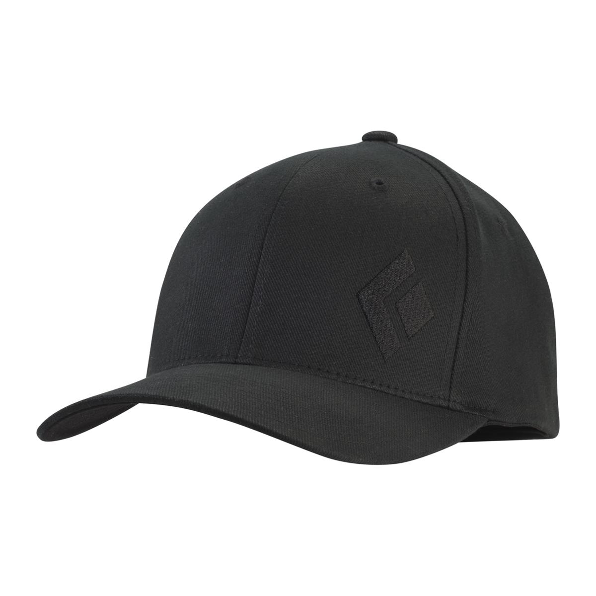 Black Diamond Cap black Logo