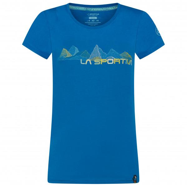 La Sportiva Shirt Peaks blau