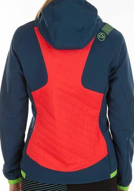 La Sportiva Kopik Jacke blau rot