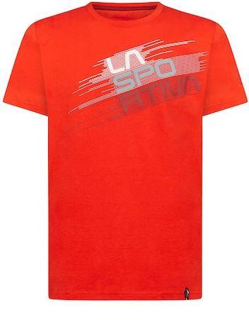 La Sportiva Shirt Stripe Evo rot