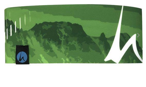 Höhenrausch Headband green Mountain