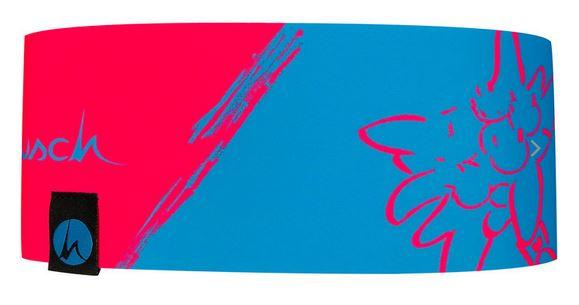 Höhenrausch Headband Stirnband blau pink
