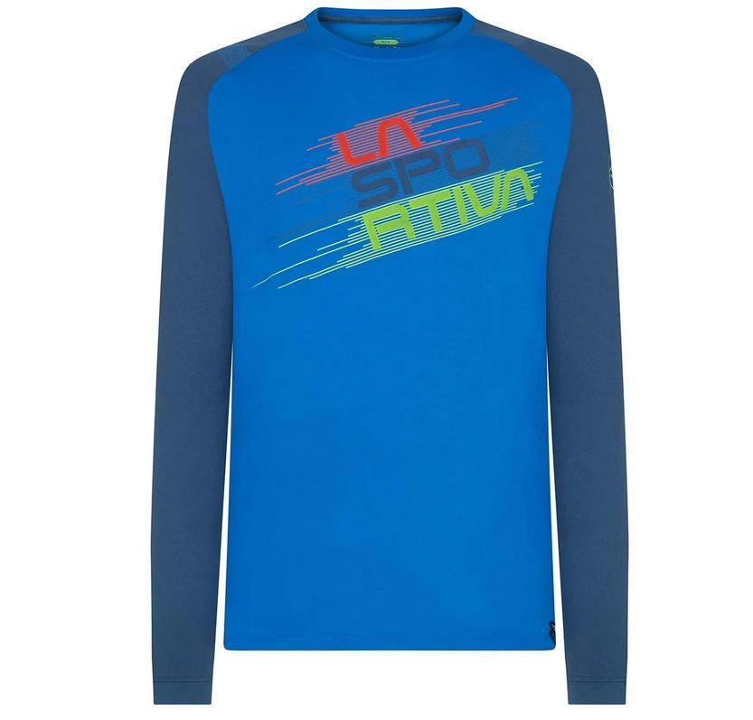 La Sportiva Longleeve blau