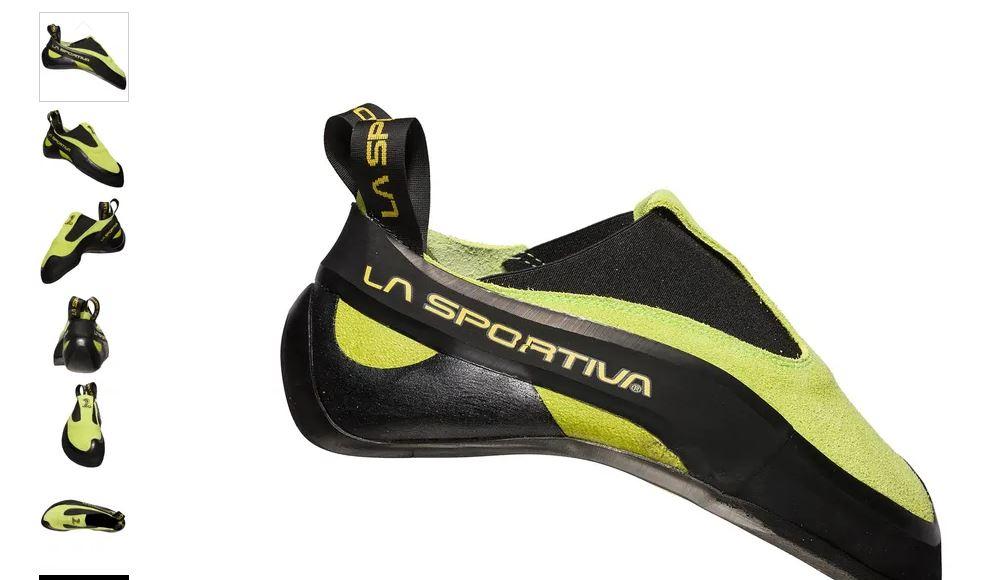 La Sportiva Kletterschuhe Cobra grün
