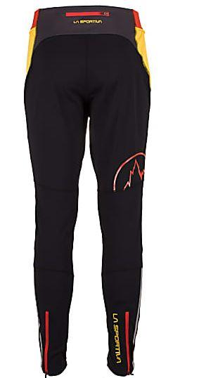 La Sportiva Argo Pants black Gelb