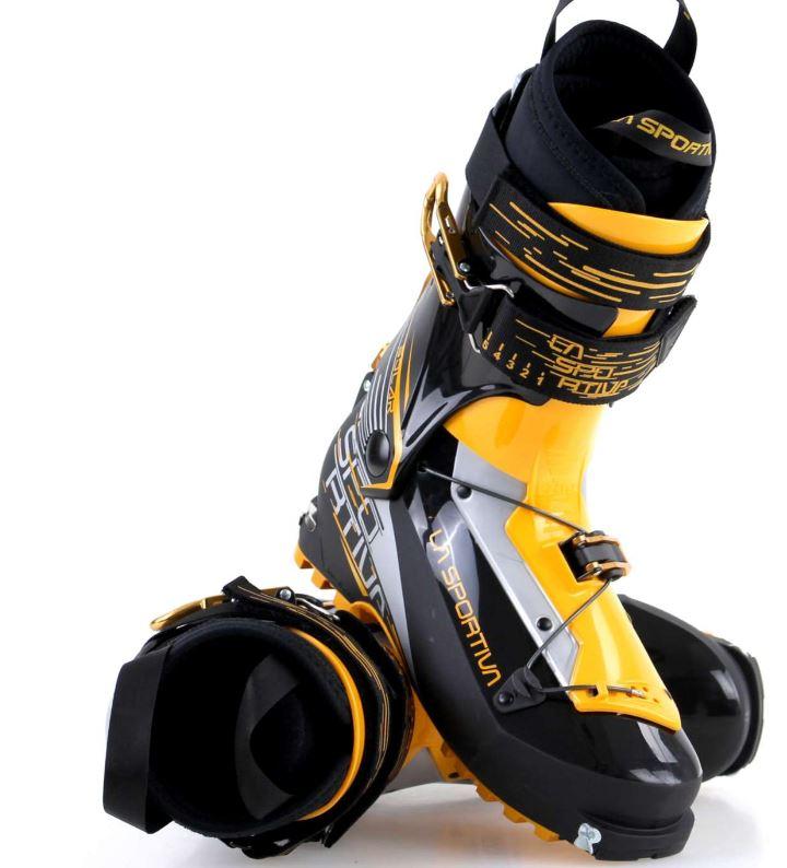 La Sportiva Solar black gelb