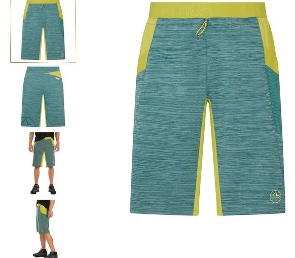 La Sportiva Short pine kiwi