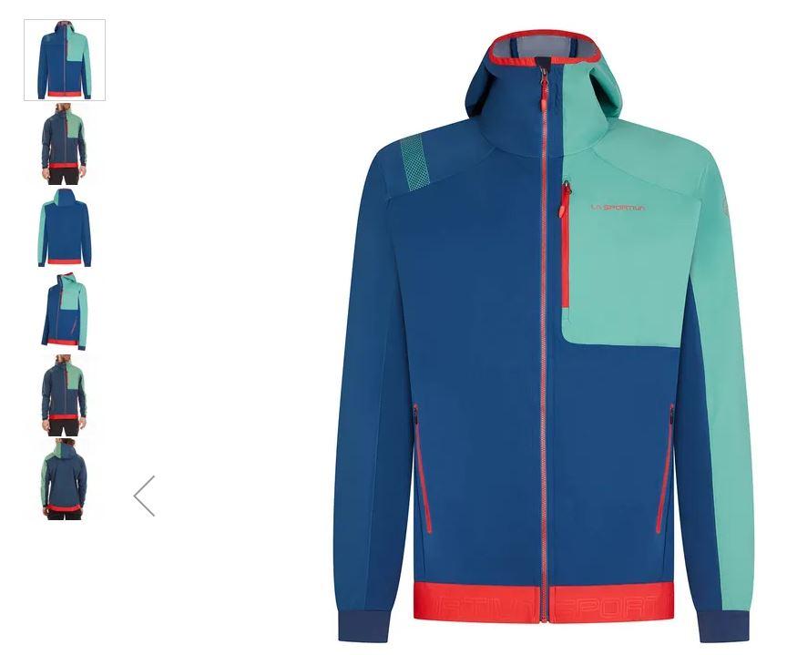La Sportiva Jacke Macnas blau grün