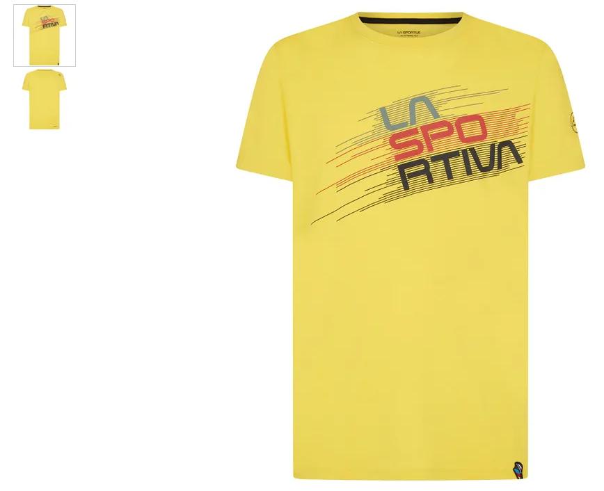 La Sportiva Shirt Stripe Evo gelb