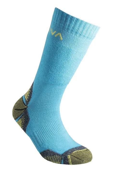 La Sportiva Socken Kids Mountain blau
