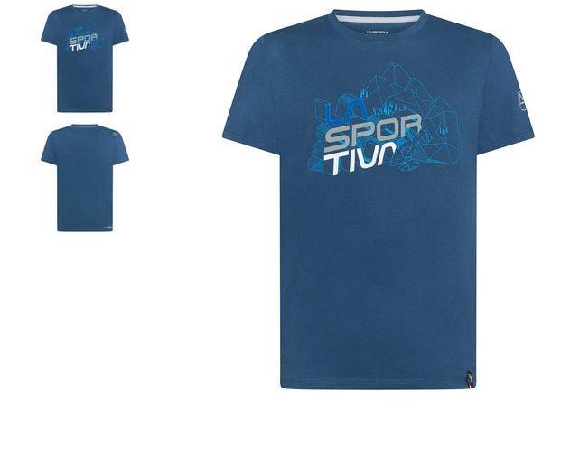 La Sportiva Shirt Cubic blau