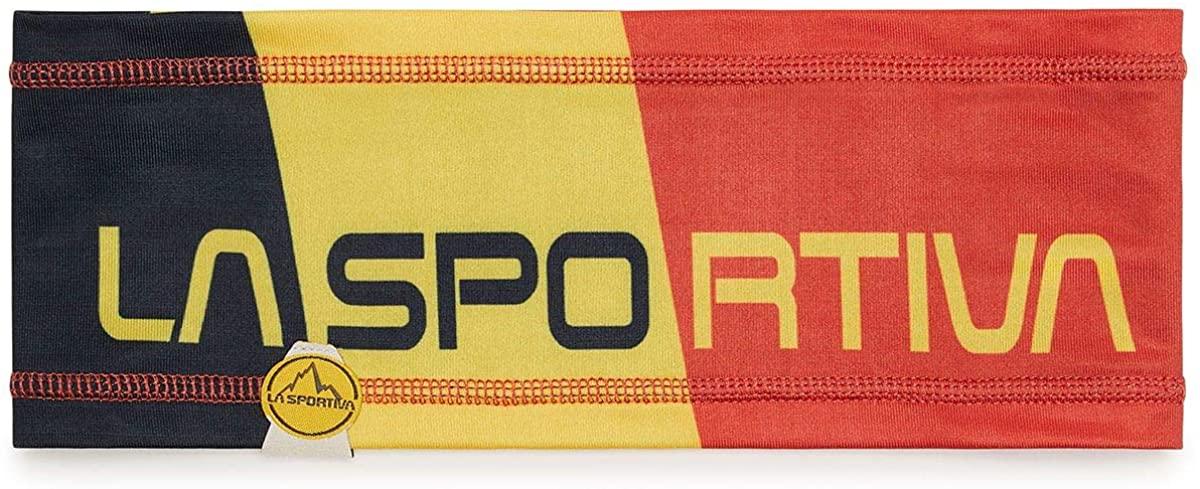 La Sportiva Headband black gelb