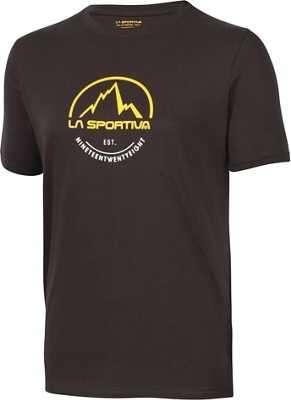 La Sportiva Logo Shirt schwarz