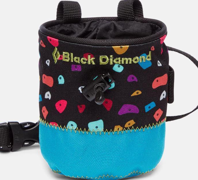 Black Diamond Chalk Bag Kinder azul