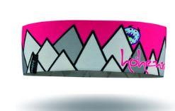 Höhenrausch Stirnband Headband Kinder pink