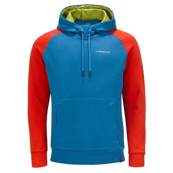 La Sportiva Hoody blau rot