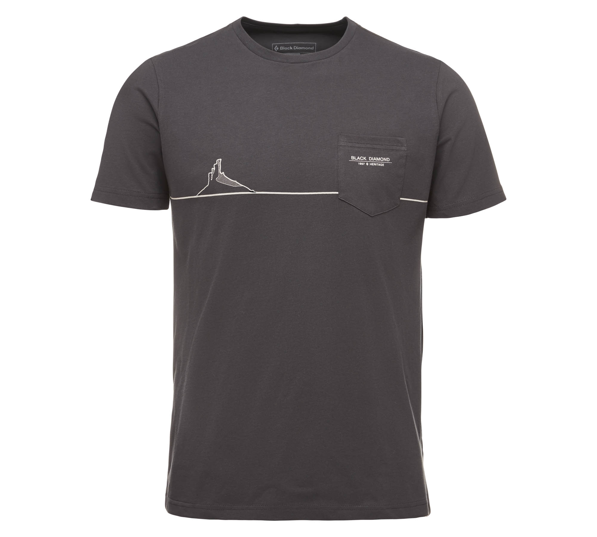 Black Diamond Tower Shirt carbon
