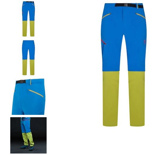 La Sportiva Tourenhose Ground kiwi blau