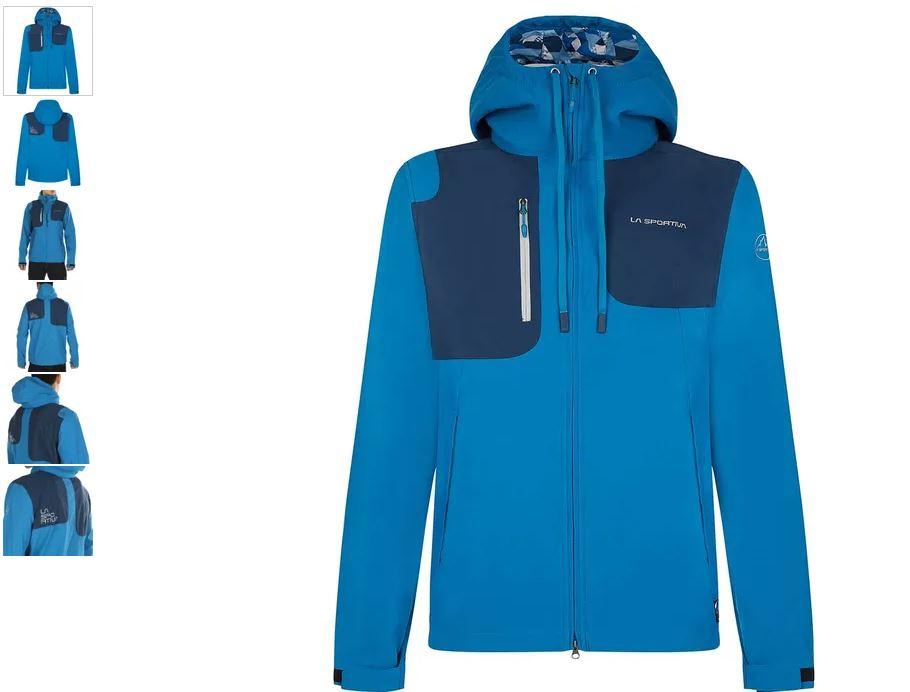 La Sportiva Jacke Jolly blau