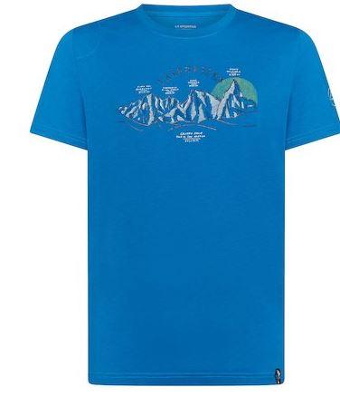La Sportiva Shirt View blau