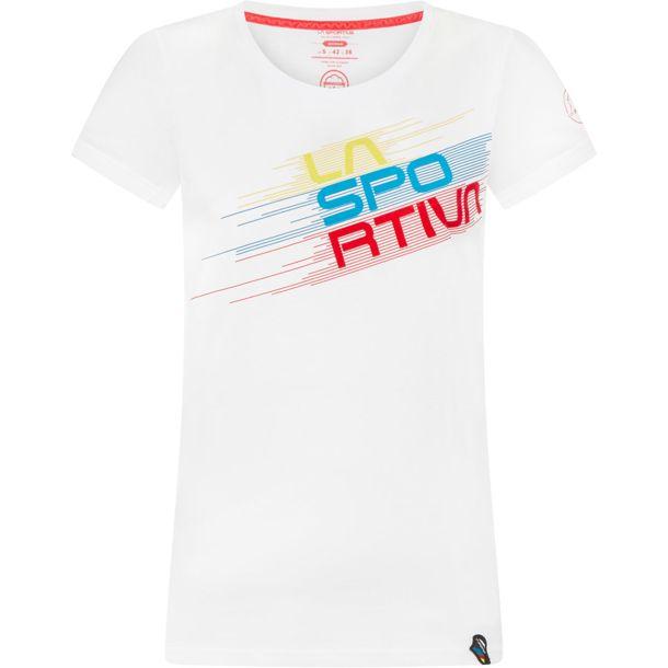 La Sportiva Shirt Stripe Shirt weiß