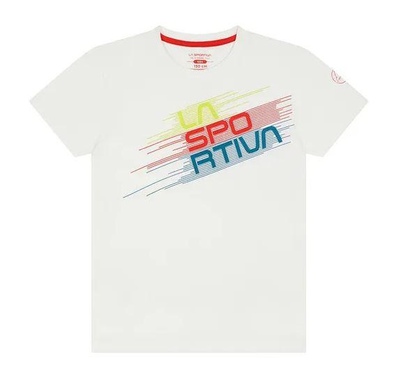 La Sportiva Kinder Shirt weiß
