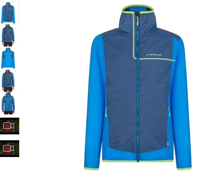 La Sportiva Zeal Jacke blau