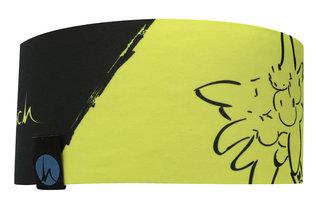 Höhenrausch Headband Stirnband Edelweis lime