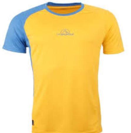 La Sportiva Funktionsshirt gelb blau