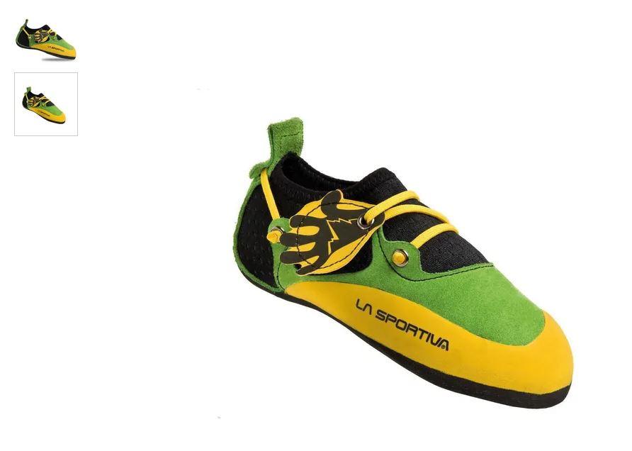 La Sportiva Kinder Kletterschuhe Stickit grün