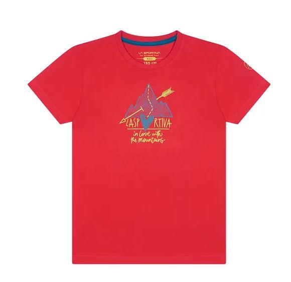 La Sportiva Kinder Shirt rot