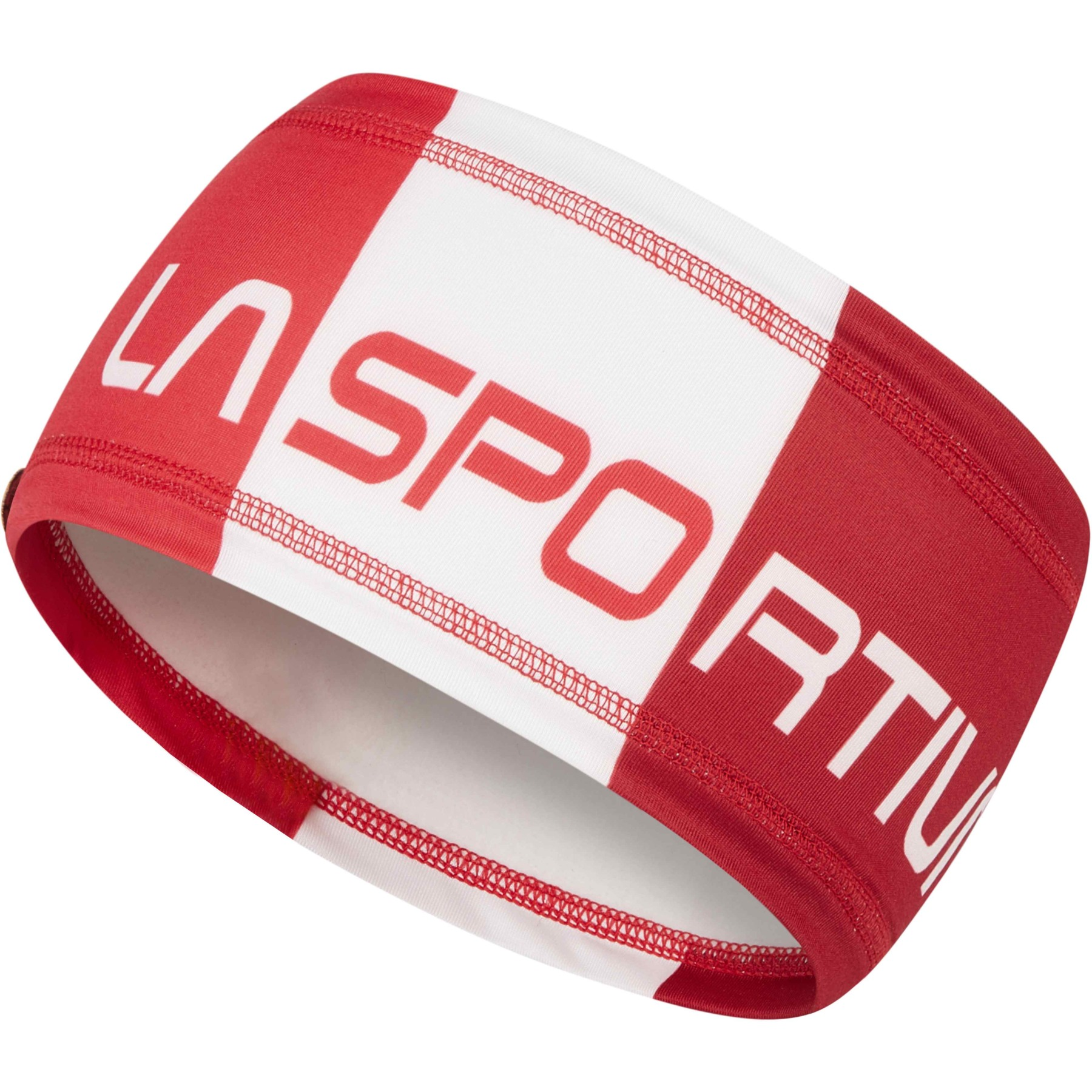 La Sportiva Headband weiß hibiscus