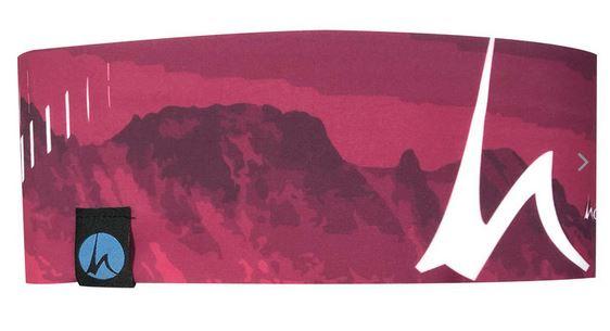 Höhenrausch Headband pink Mountain