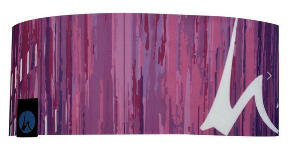 Höhenrausch Headband purple Mountain