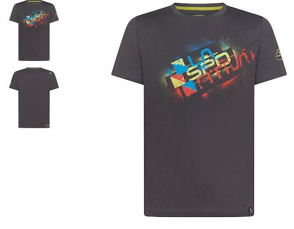 La Sportiva Shirt Square Evo black