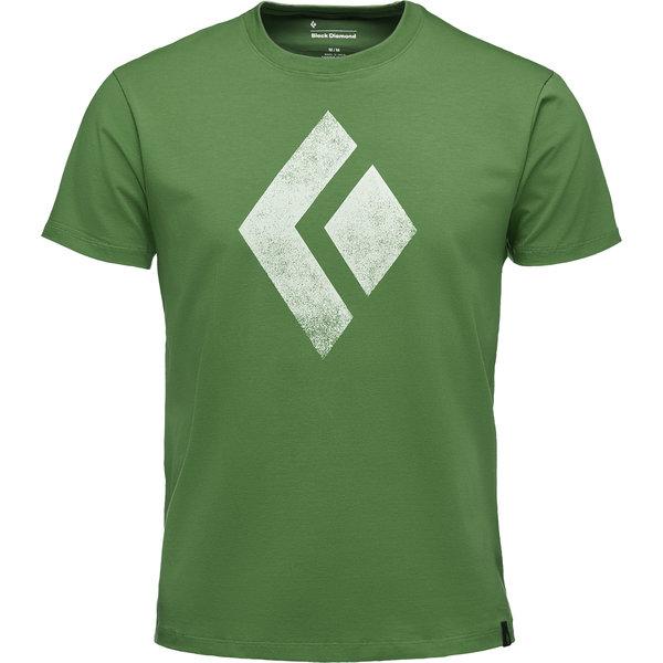 Black Diamond Shirt schwarz Chalk up grün