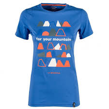 La Sportiva Shirt Mountain blau