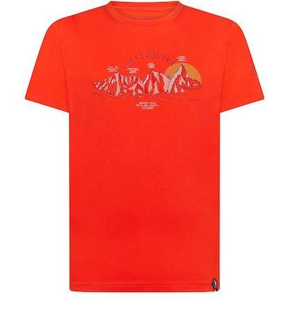 La Sportiva Shirt View rot