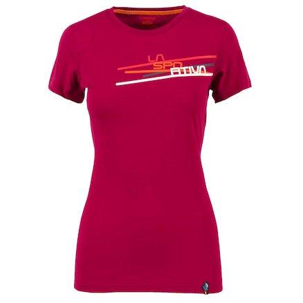 La Sportiva Shirt Stripe beet