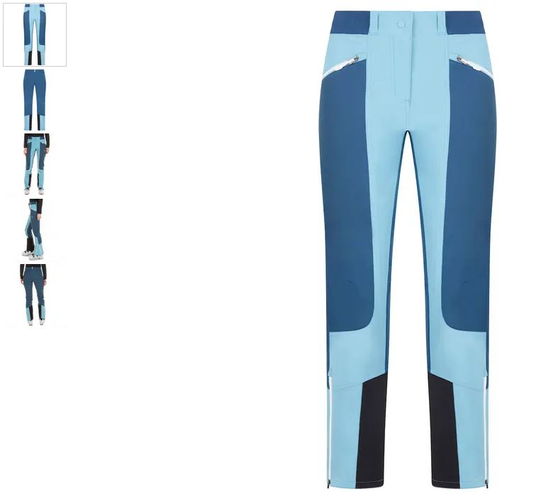 La Sportiva Tourenhose blau