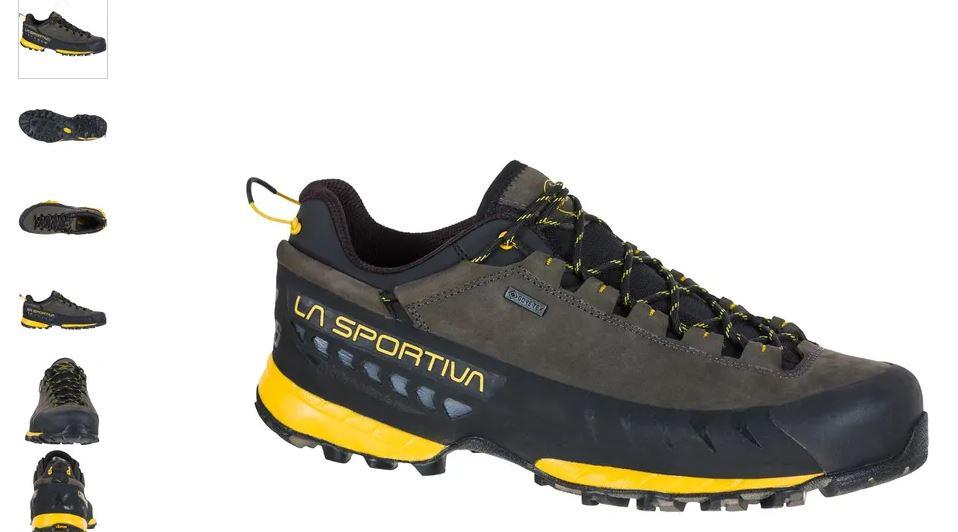 La Sportiva TX 5 low GTX carbon yellow
