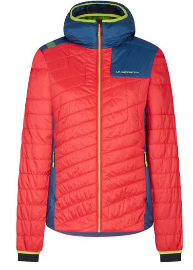 La Sportiva Primaloft Jacke rot/blau