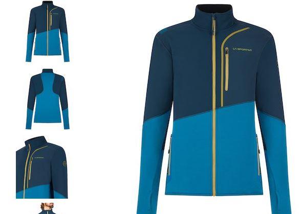 La Sportiva Jacke Maze blau
