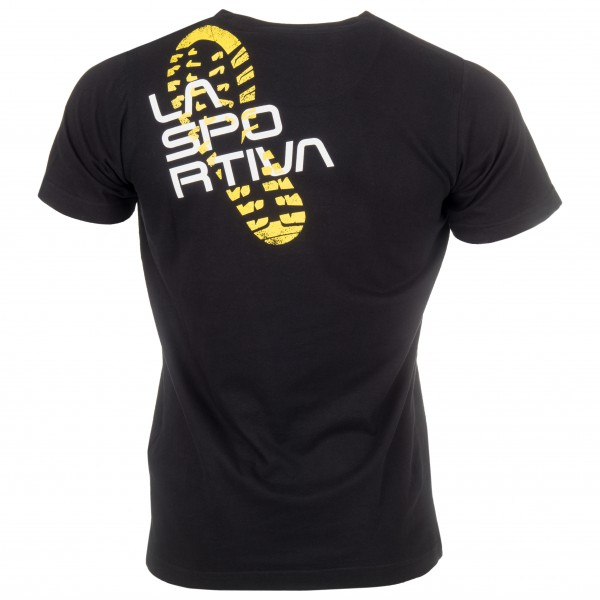 La Sportiva Footstep Shirt schwarz
