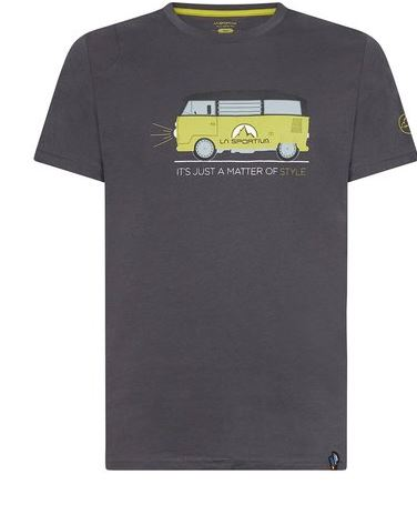 La Sportiva Shirt Van carbon/kiwi