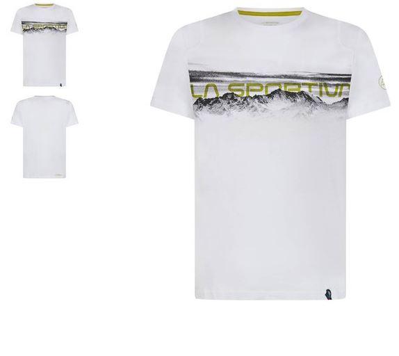 La Sportiva Shirt Landscape weiß