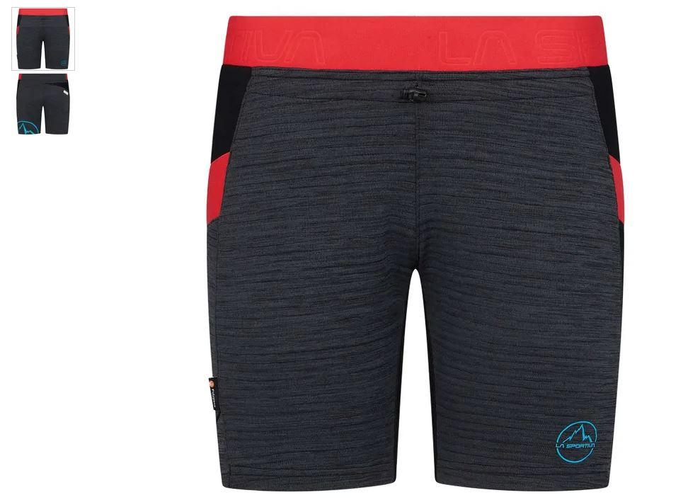 La Sportiva Short black hibiscus