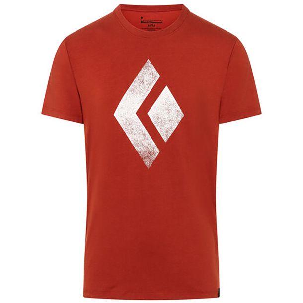 Black Diamond Shirt schwarz Chalk up red