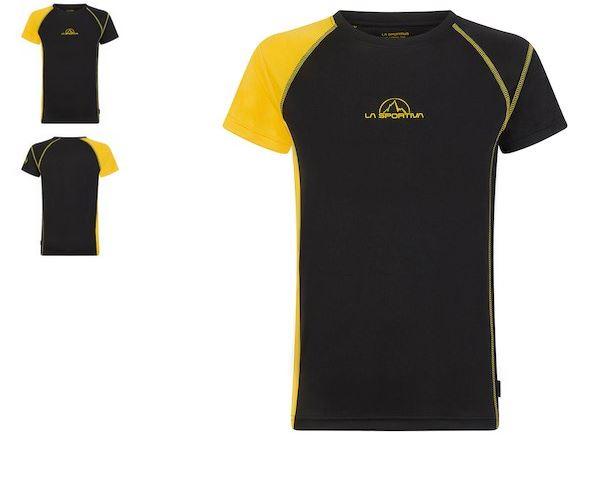 La Sportiva Funktionsshirt schwarz/gelb