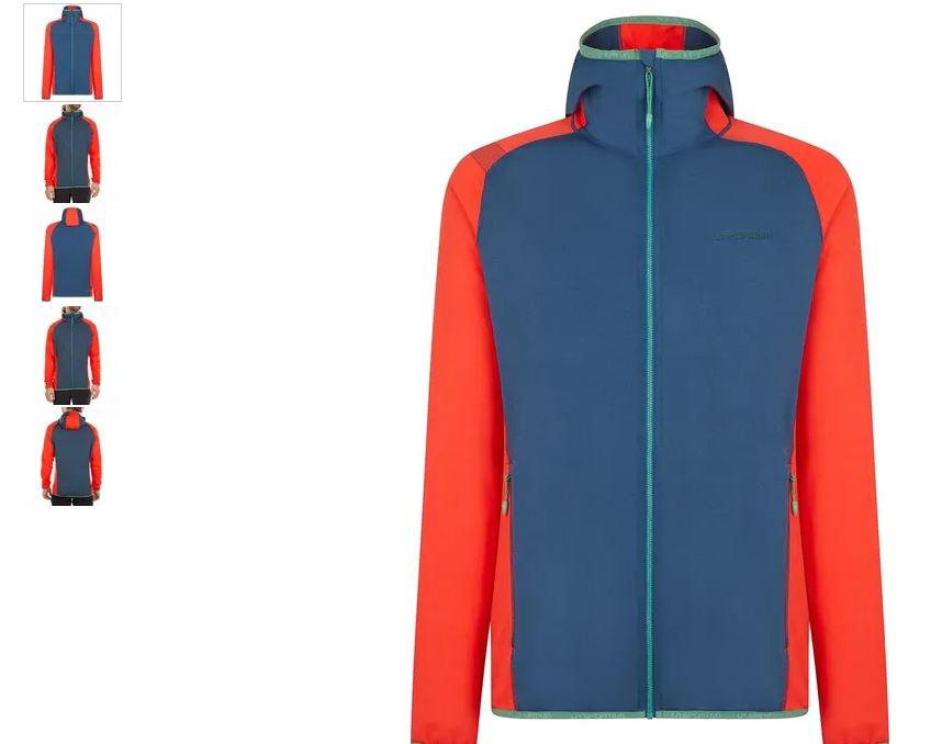 La Sportiva Gemini Jacke blau rot